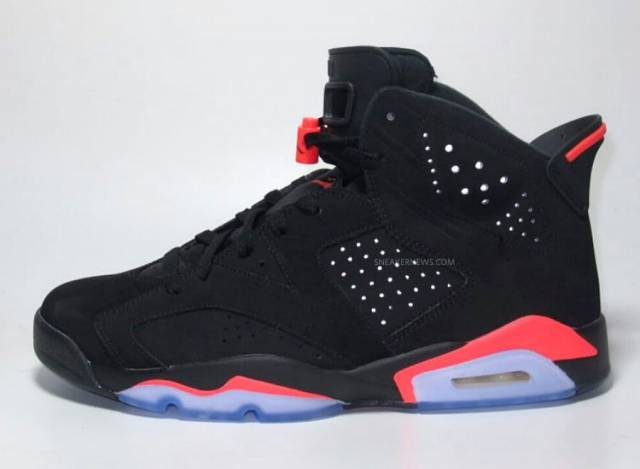 "Air Jordan ""infrared"" 6s 