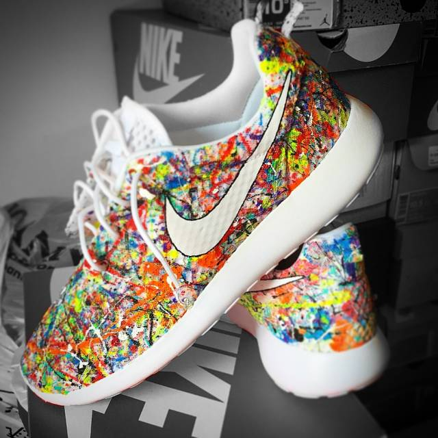 nike roshe run colorful
