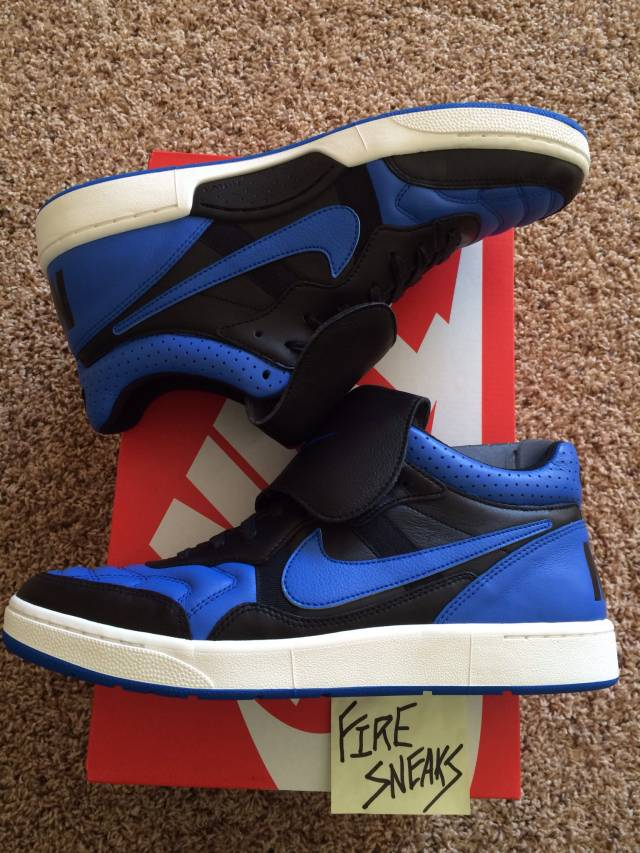 Nike Nsw Tiempo 94 Mid Qs Size 11 New Royal