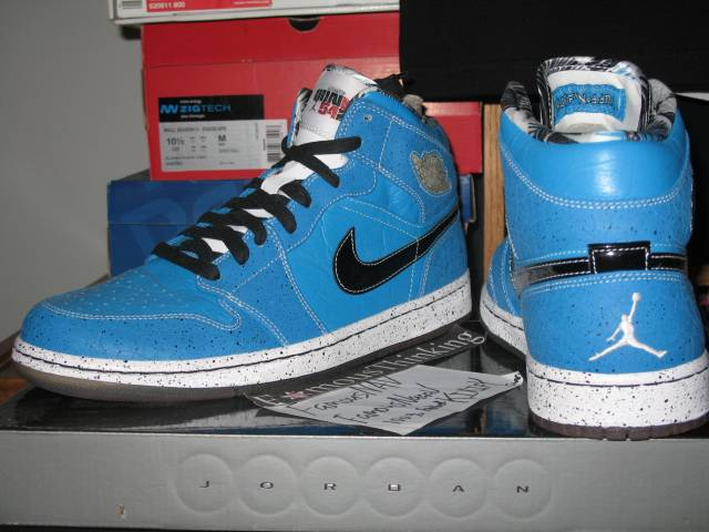 fa4078be3cf16a RARE! Air Jordan 1 Quai 54 SAMPLE Serious Buyers only