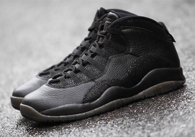 Air Jordan 10 Ovo Compra Negro