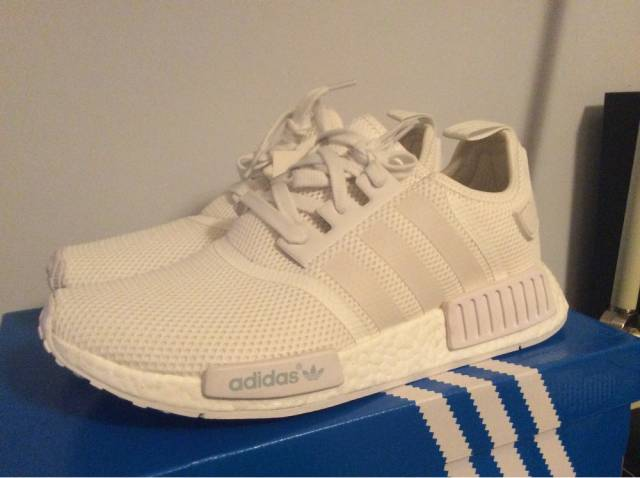 Buy adidas nmd r1 women silver cheap Rimslow