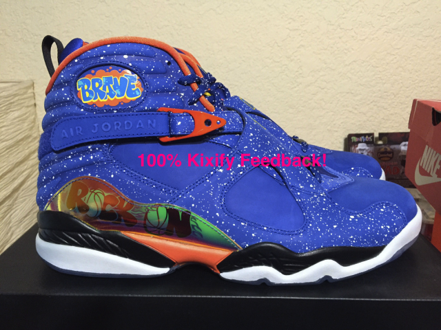 huge selection of 32c9f 9e7cb Air Jordan 8 Doernbecher - Caden Lampert
