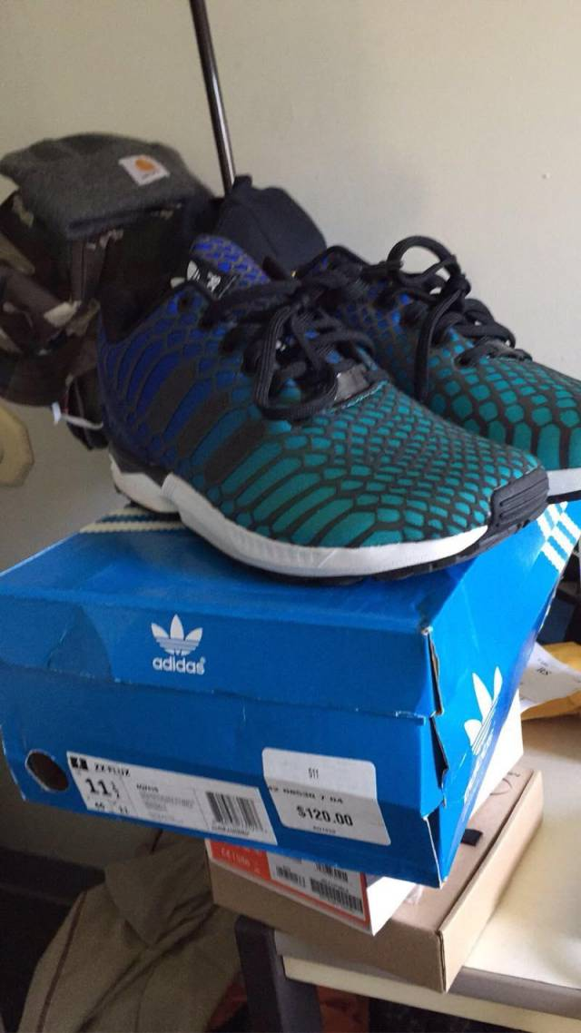 separation shoes eec49 94099 closeout adidas zx flux xeno blue 0a323 fe742