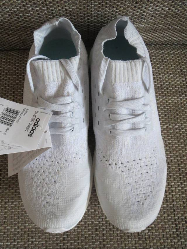 Sale Kelly's UA Ultra Boost Uncaged Grey White Online, Best Air