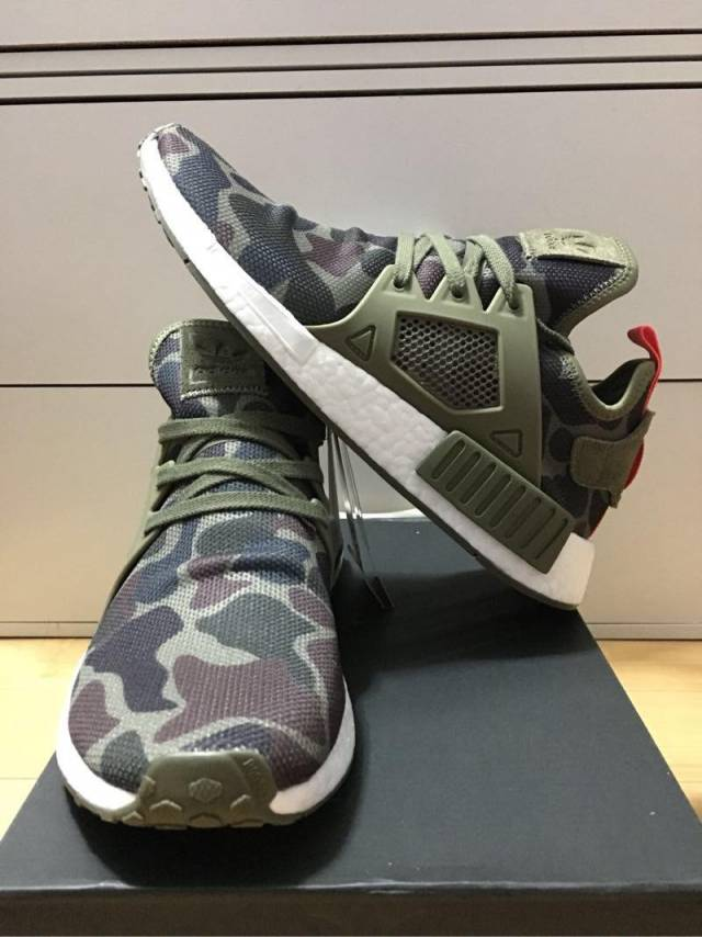 online store cdd0f 70bd8 Adidas Nmd Xr1 Green Camo