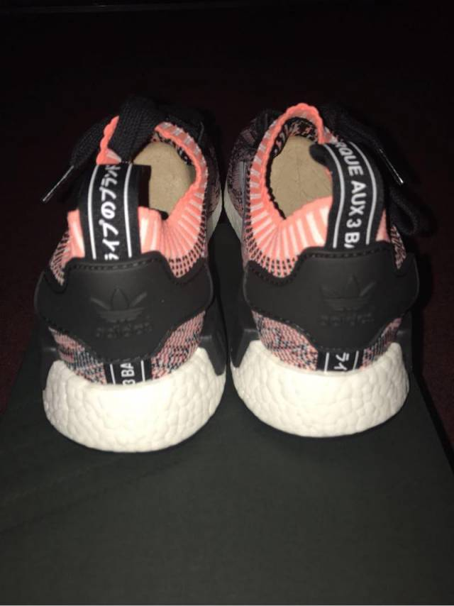 Adidas NMD R1 Raw Pink / Salmon Size US 4 4.5 5 (# 1013492