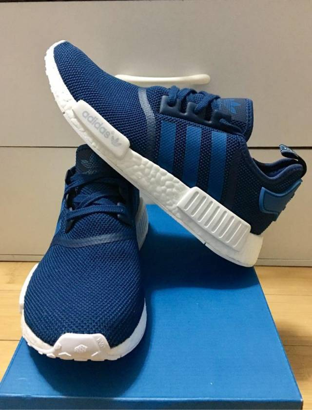 Adidas NMD R_1 Tech Steel Unity Blue