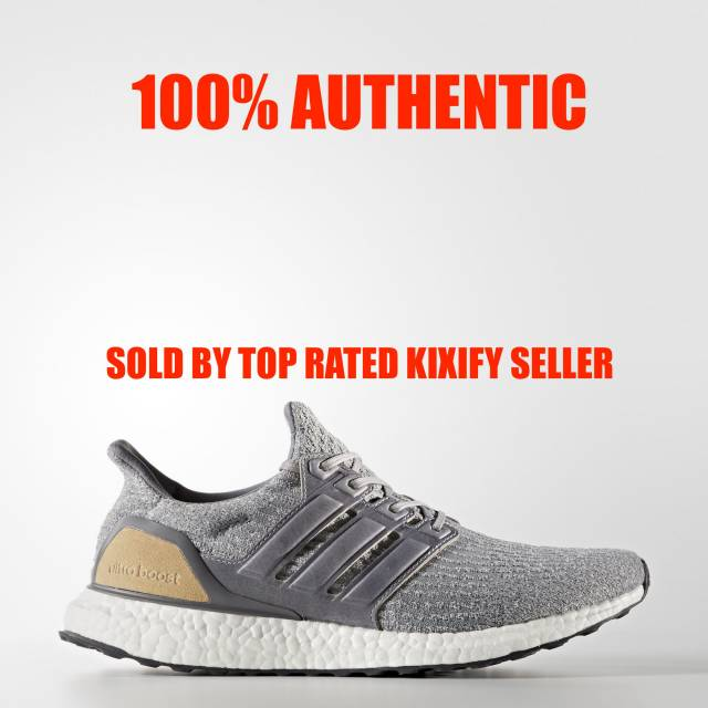 Adidas Ultra Boost 3.0 Reigning Champ Grey $240 Last Sale