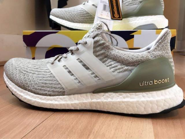 Adidas Ultra Boost 3.0 LTD Limited Olive Trace Cargo Green BA 7748