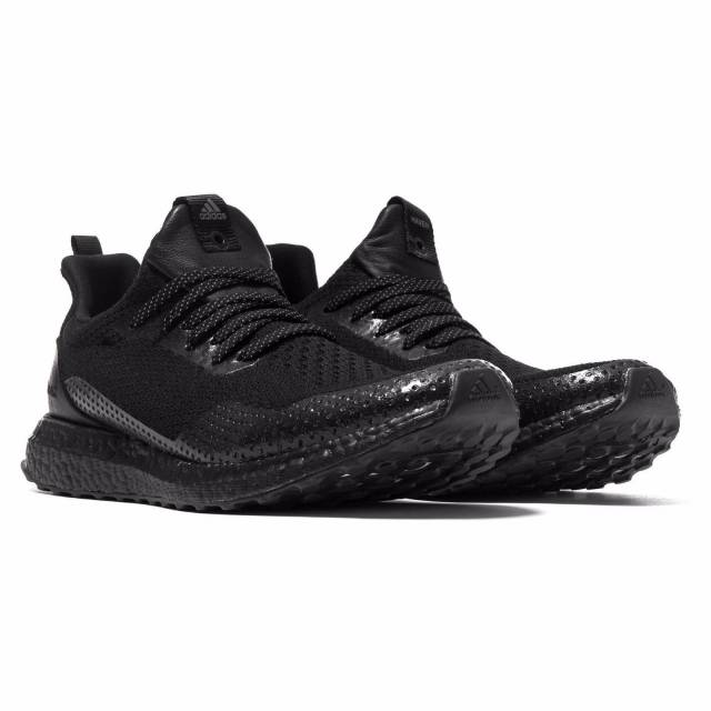 5842c193a7361 Adidas X Haven Ultra boost Uncaged triple black