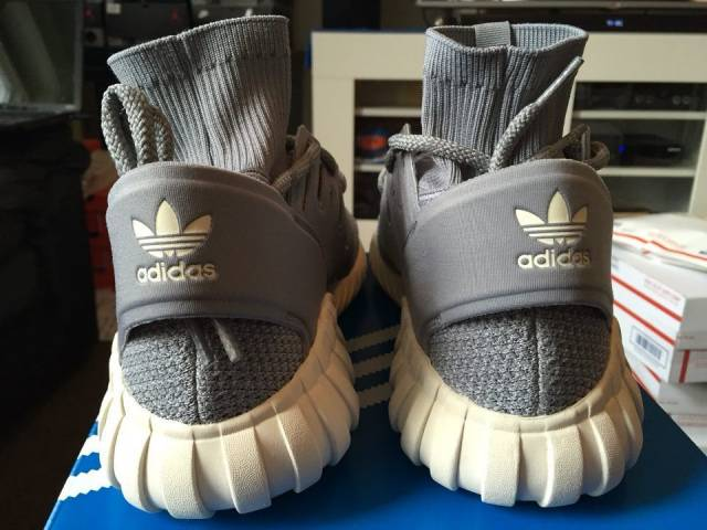 Adidas Originals Tubular Doom PK Primeknit Grey 3M S74920