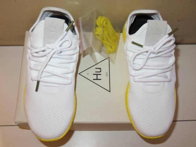 7ff0dd211839 Adidas Pharrell Williams Tennis HU White Yellow US 4