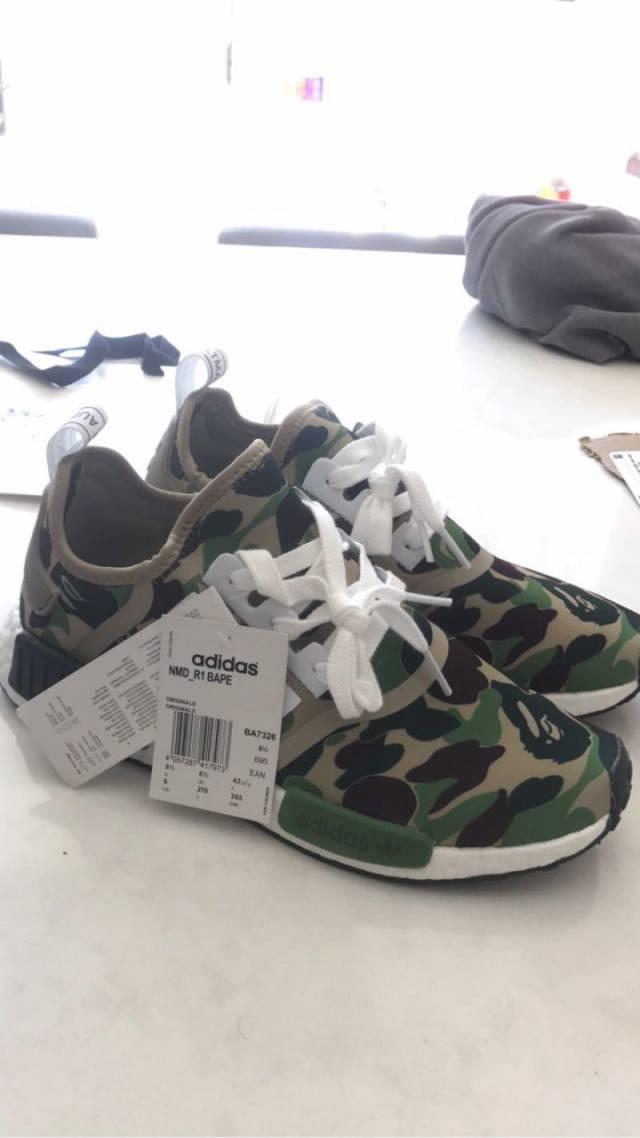 bape x adidas nmd kixify mercato