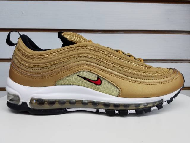 Nike Air Max 97 Gold OG 2017 Release MENS 884421-700
