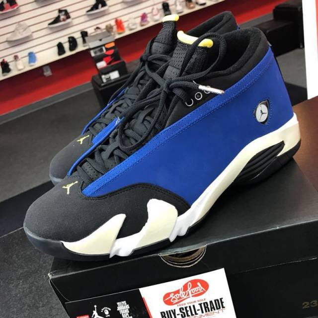 premium selection 66bdd 1aeba Jordan 14 Low - Laney