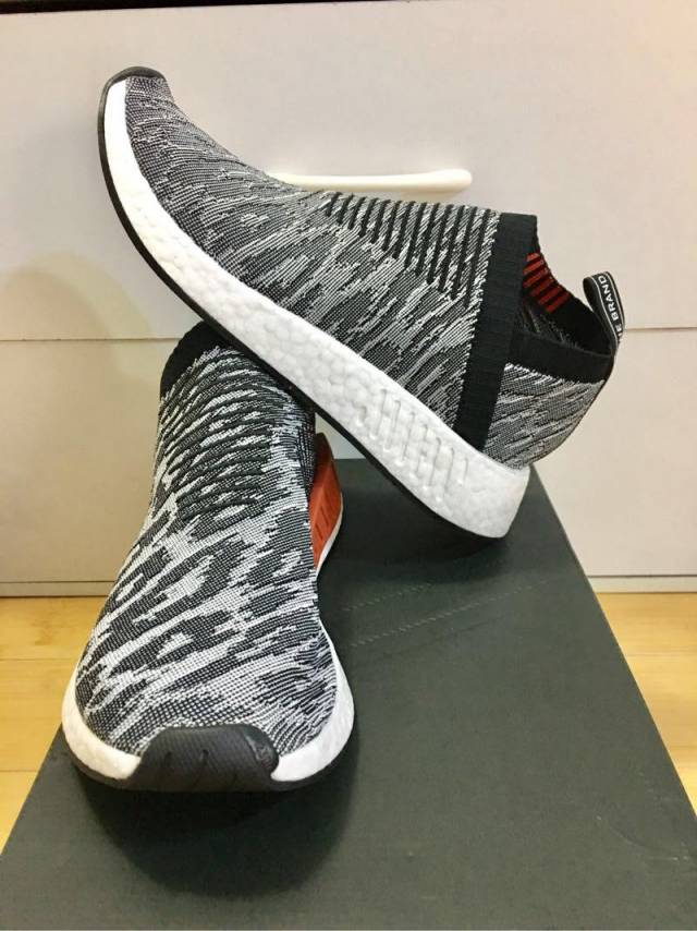 detailed look 44c32 88556 Adidas Nmd City Sock 2 Black White