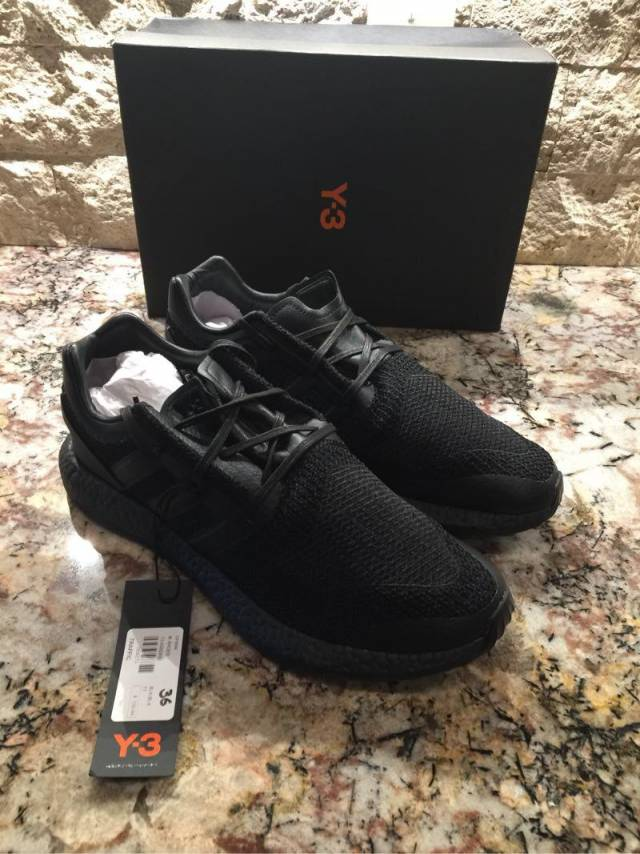 784364c5e395 adidas Y3 Pure Boost Triple Black