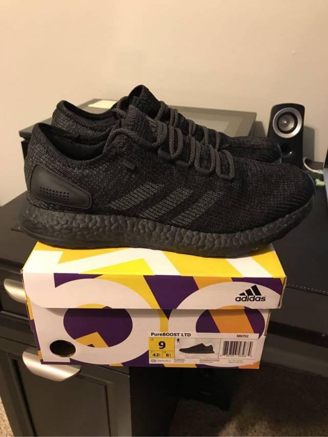 5a50fb91f9f Adidas PureBOOST LTD Triple Black