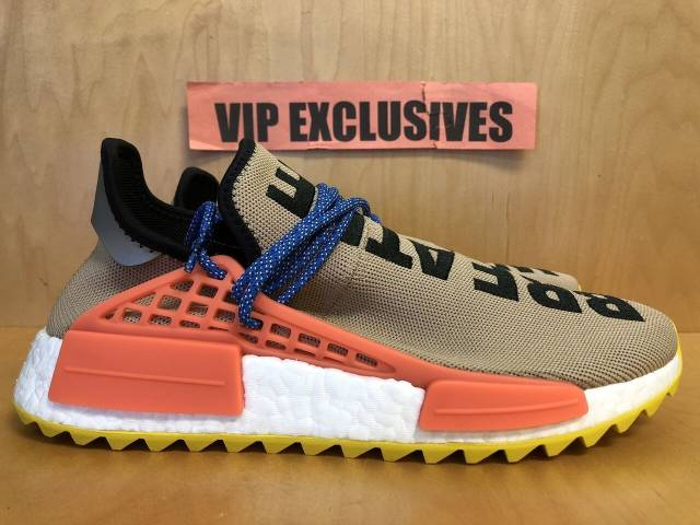 Adidas NMD Human Race Trail Pharrell Williams Pale Nude Hu