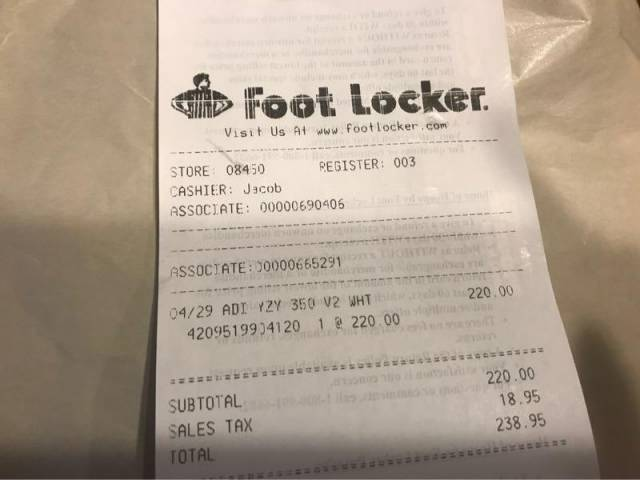 ... top quality adidas yeezy boost 350 v2 cream size 12 6cc55 ef2ff where  to buy foot locker on twitter ... 1c52cb26b