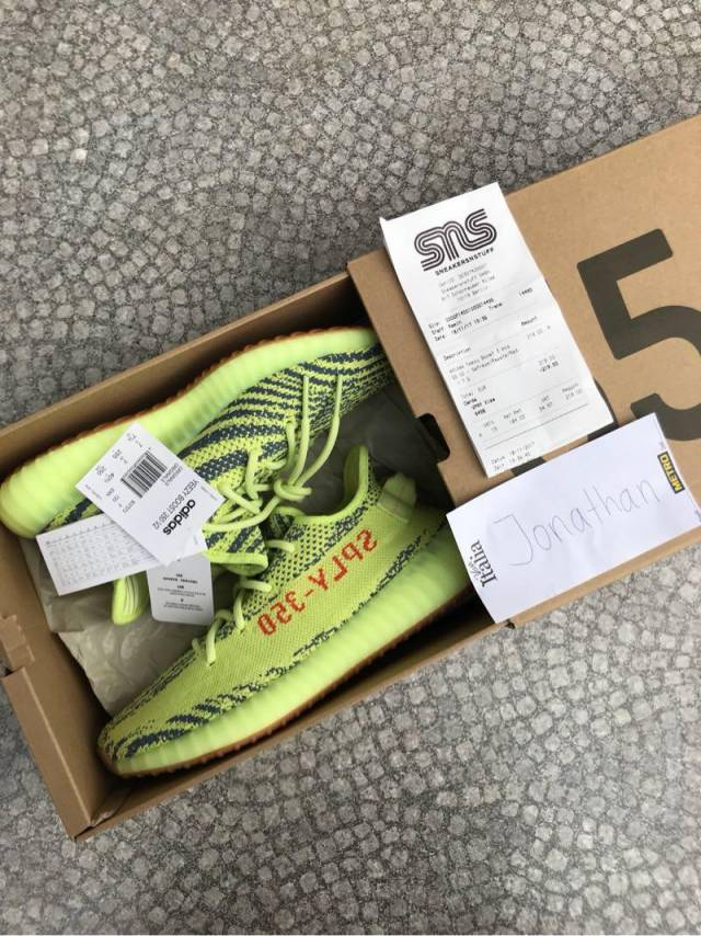 edc5f4b31 Adidas Yeezy Boost 350 V2 Semi Frozen Yellow