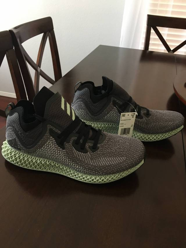 adidas AlphaEdge 4D LTD Core Black  b863ff3fb