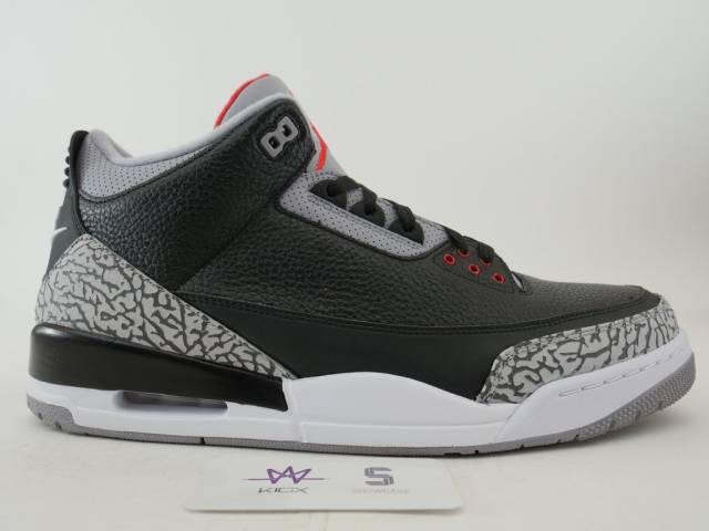 hot sales f686c 38a18 Air Jordan 3 Retro Og Black Cement 2018 Size 10