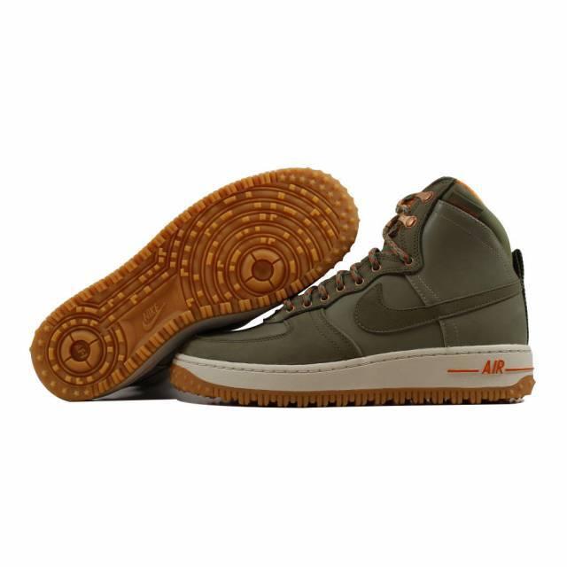 Nike Air Force 1 Hi DCNS Military Boot Slvr Sage/Medium Olive 537889-300 SZ 7.5