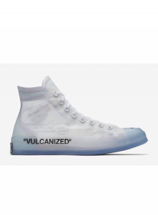 892454c26ff3 Off-White X Converse Chuck Taylor High All Star 70 VULCANIZED w Receipt ( men s) Size 4-14