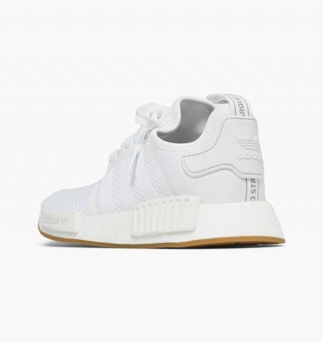 Adidas Nmd R1 Gum Sole Cloud White