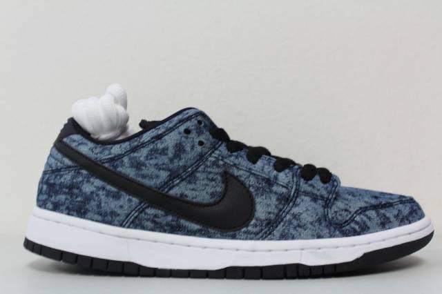 b8a0ab973f6d Men s Nike SB Dunk Low Pro Shoes Midnight Navy Black White 313170-402 Size 9