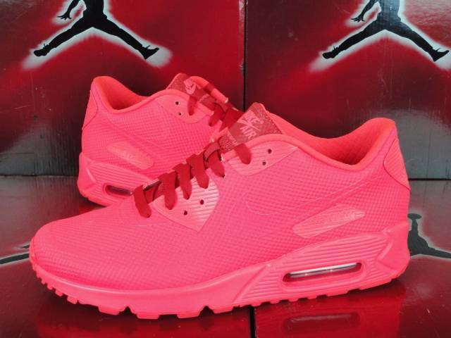quality design a91aa 9a4c9 ... real nike air max 90 hyperfuse premium id solar red sz 8.5 822560 997  october 6372d