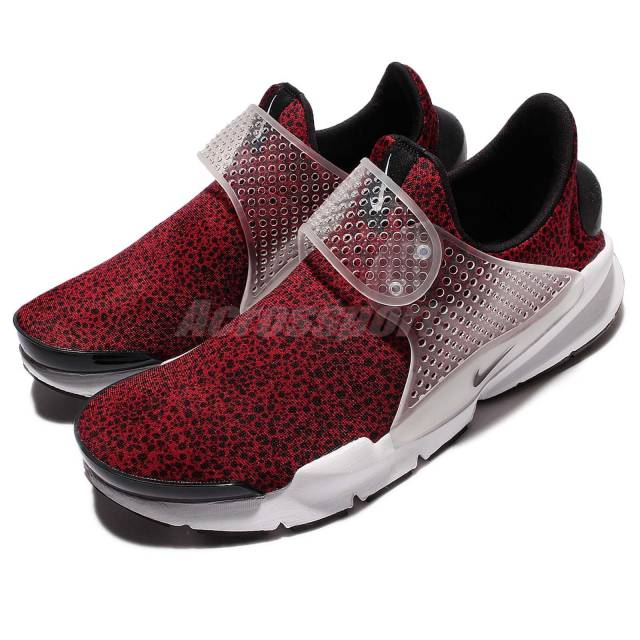 Nike Sock Dart QS Safari Pack Gym Red Black Men Shoes Sneakers 942198-600 923c4c28e