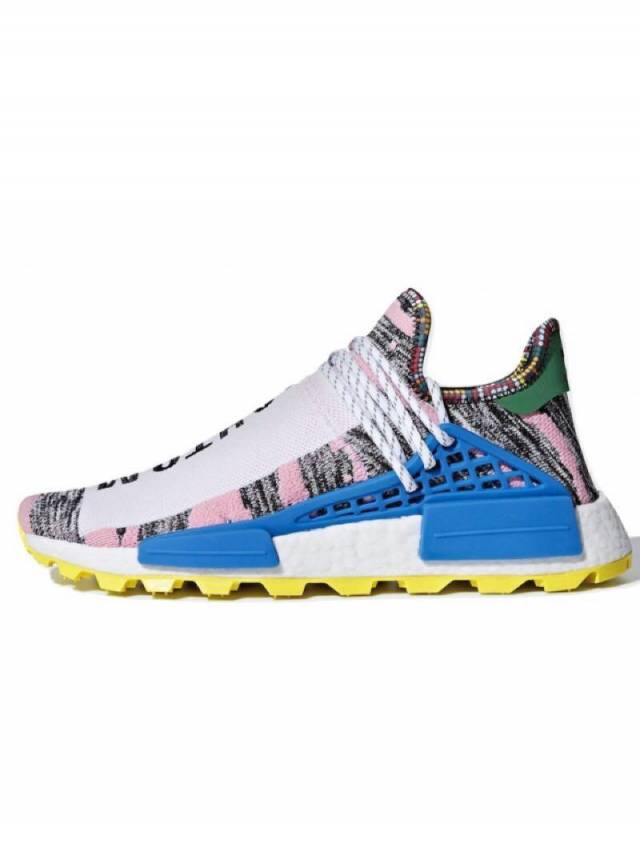 premium selection 8487d 90d41 Pharrell X Adidas Nmd Hu Trail Solar Pack Hi Res Red