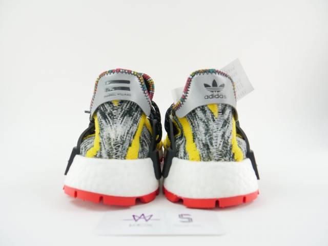 brand new e39a3 141b8 Pharrell X Adidas Nmd Hu Trail Solar Pack Core Black