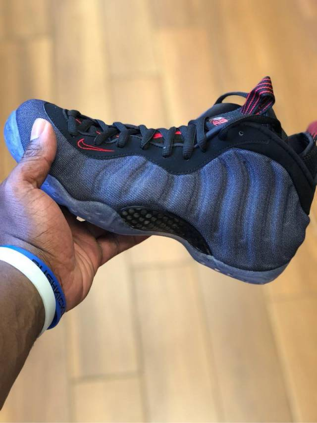 ce7d2e6d337 Nike Air Foamposite One Denim
