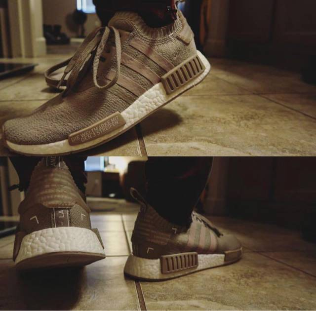 brand new 3c2d9 292a1 French Beige Nmd R1 Size 10