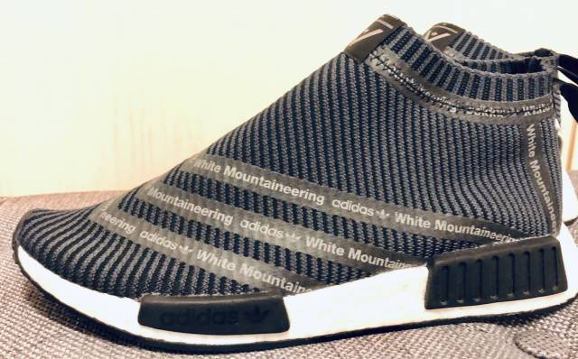 wholesale dealer 1e007 dcdd4 Adidas Nmd City Sock X White Mountaineering Size 11