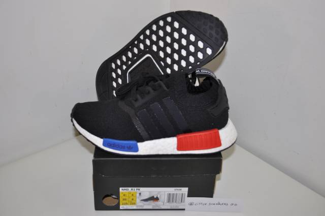 competitive price 20f24 d90f8 Adidas Nmd Og Core Black Lush Red Size 4.5 Us 4 Uk 36.5...