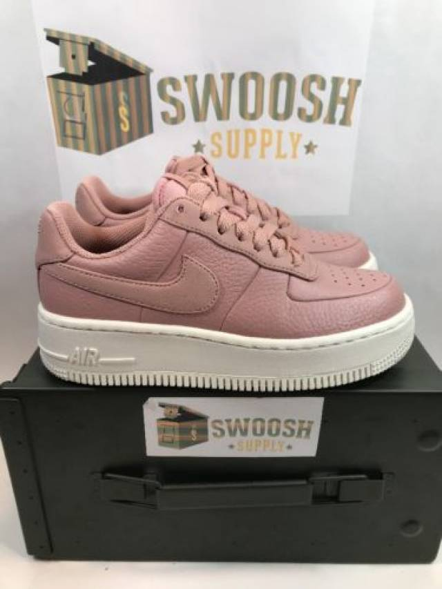 newest collection 2816f 7e7ea Nike Womens Air Force 1 Upstep Basketball Shoes 917588-...