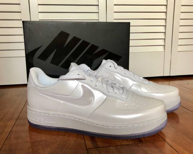 1a33bc98afa1a5 Nike AF1 Foamposite Pro Cup - Size 9 - White White-White