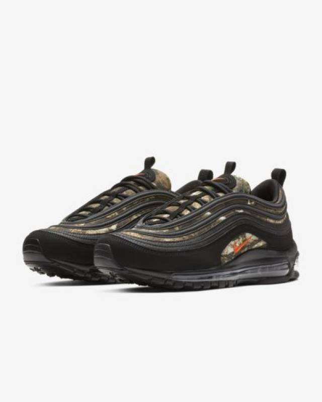 innovative design f0637 7b705 Nike Air Max 97 Realtree Black Camo Orange 8-14 Mens 2019   Kixify  Marketplace
