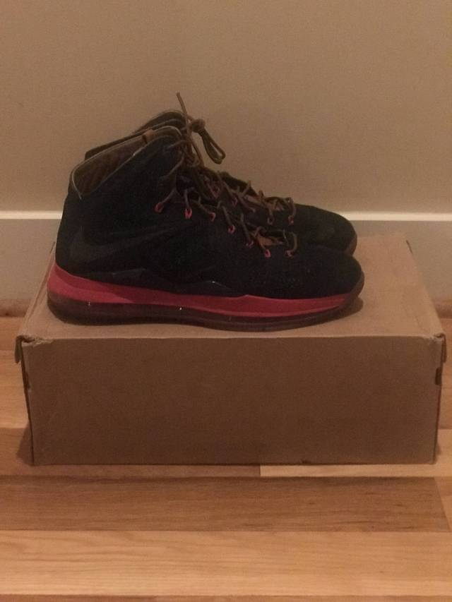 check out 5319d 51ead Nike LeBron 10 EXT Denim QS - Denim