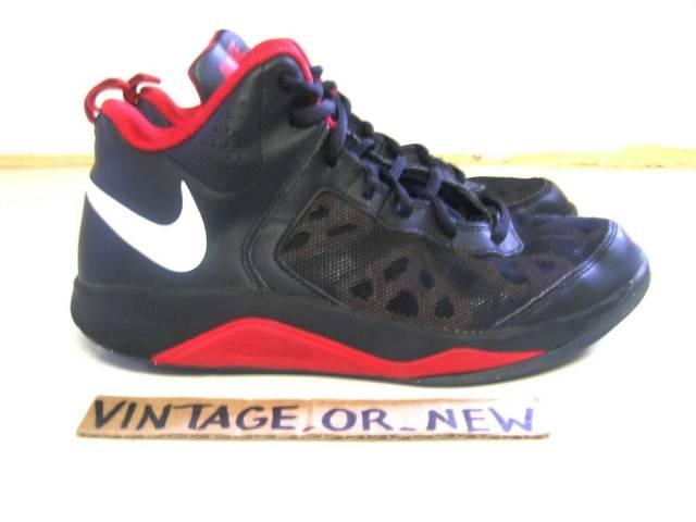 Nike Dual Fusion BB Black Red White