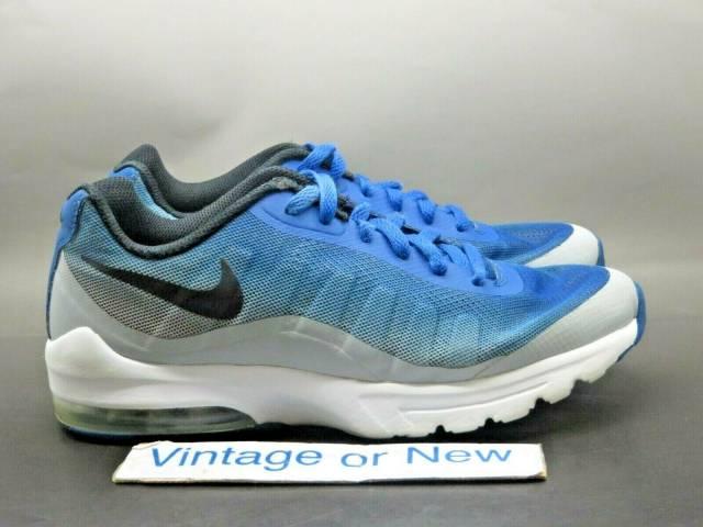 Nike Air Max Invigor Print Blue Jay Black Wolf Grey Running 749688 ...