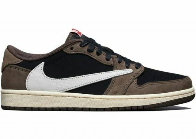 online retailer c01c4 3ad80 Travis Scott X Air Jordan 1 Low Dark Mocha