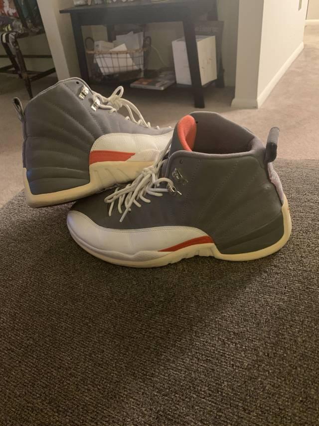 size 40 219e6 8af3f Jordan Cool Grey 12s