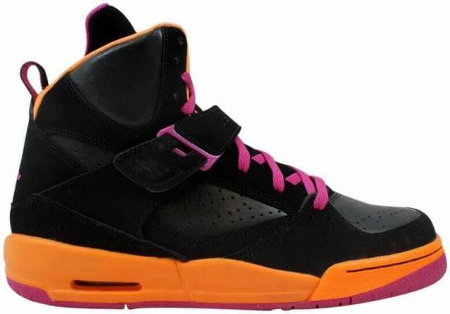 Nike Air Jordan Flight 45 High Gs Blackpink grey citru