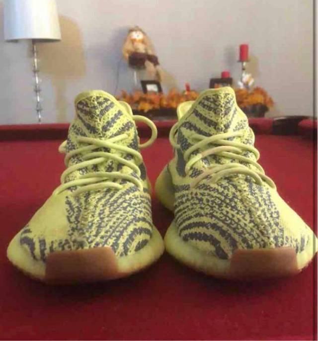 Yeezy 350 Semi Frozen Yellow
